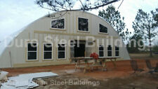Durospan Steel 50x50x19 Metal Quonset Diy Home Building Kits Open Ends Direct