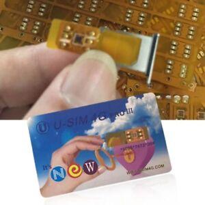 For-iphone-XS-Max-iOS12-U-SIM4G-PRO-III-GPP-iDeal-Unlock-Turbo-Sim-Card-Lot-CN