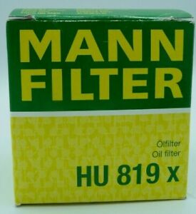 MANN HU 819 x - Engine Oil Filter - Volvo 1275811