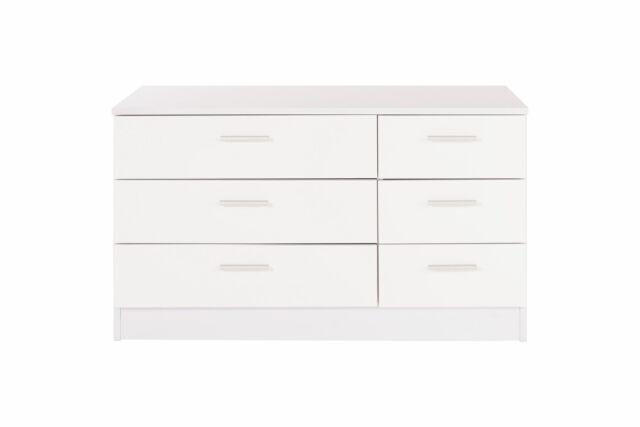 Caspian High Gloss White Bedroom, White Gloss Bedroom Furniture Range