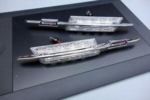 2 CLIGNOTANT LATERAUX LED BMW SERIE 3 E46 BERLINE 316i 318i 320i LED LOOK M NOIR