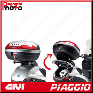 ATTACCO POSTERIORE RIBALTABILE PER BAULETTO MONOKEY PIAGGIO MP3 SPORT 300 12>14