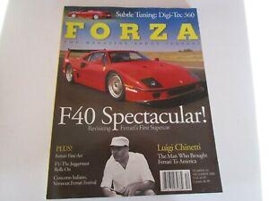 FORZA-MAGAZINE-FERRARI-Issue-42-December-2002-F40-issue-360-Spider-F1
