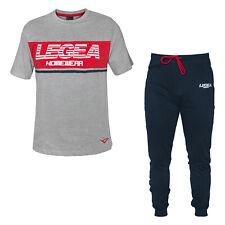 Pigiama Homewear Uomo LEGEA Mezza Manica Cotone Art.PG34332