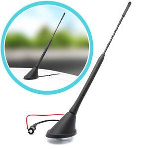 Dachantenne Antennenfuss Sockel Fuß 40cm RAKU II 2 Radio Antenne Schwarz für