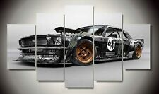 Huge Abstract Wall Decro Art Oil Painting on Canvas NO FRAME Cool Car 187