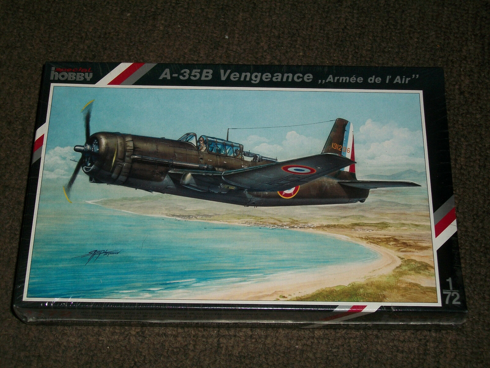 Vultee 72 Hobby Special A-35B 1 Sealed Factory - Air l' de