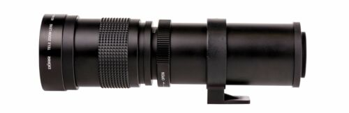 Teleobjetivo 420-800mm Para sony E-Mount Alpha 3000 5000 5100 6000 6100 6300