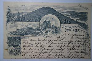 Ansichtskarte-Vorlaeufer-1894-Inselberg-Inselsberg-Gotha-Schmalkalden-Meiningen