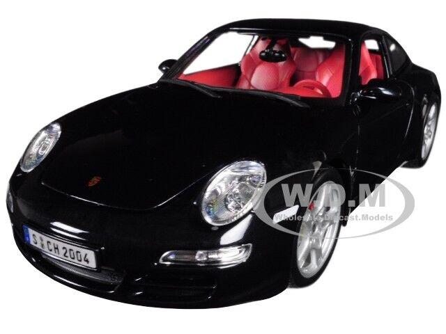 MAISTO 1:18 SPECIAL EDITION  PORSCHE 911 CARRERA S DIECAST CAR 31692BL BLUE
