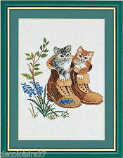 Broderie Point de Croix Compté Chatons Eva Rosenstand 12-798 - Cross stitch kit