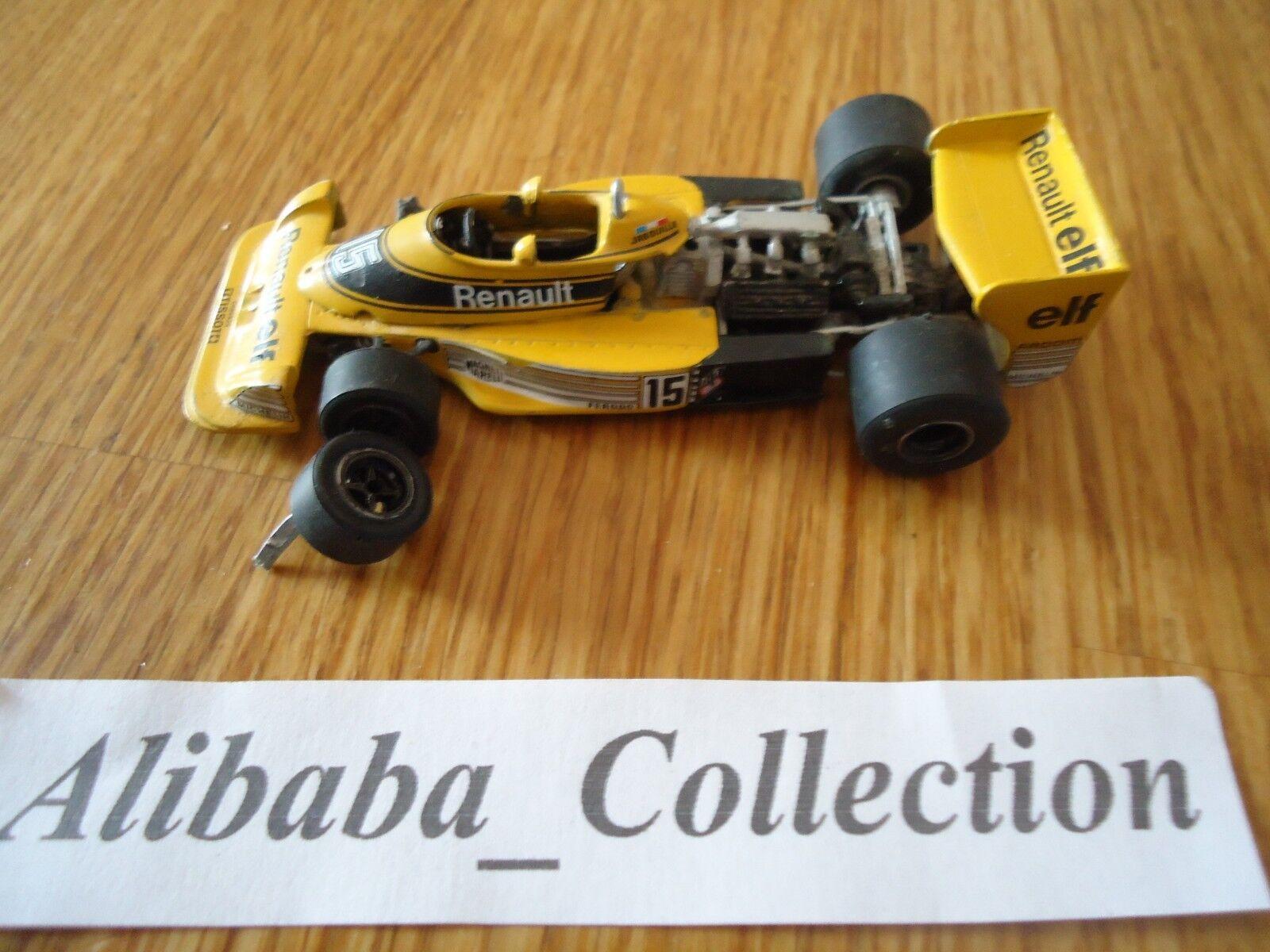 TENARIV RENAULT ELF RS01 JABOUILLE 15  SAUDIA  F1 Formule 1 KIT