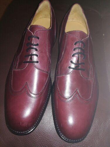 New scarpe pelle uk8 design marrone di in Brand Magli taglia italiano Eu42 Bruno pgdCxqnw