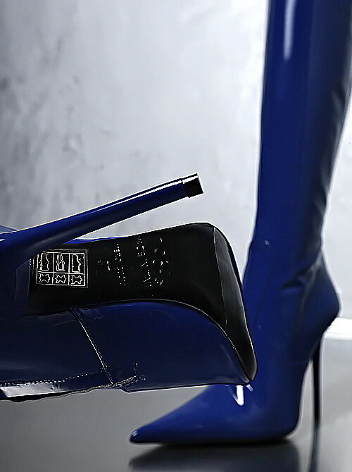 100% MADE IN ITALY SEXY ULTRA E84 POINTY SCHUHE HIGH HEEL STIEFEL Stiefel SCHUHE POINTY LEDER 38 1a6391