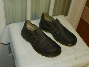 3137e9f7bc9 Dr. Doc Martens Mawgan Leather Loafers Slip On Shoes Men s size 8 ...