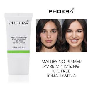 Phoera Face Primer Makeup Base Oil Control Moisturise Skin Liquid Foundation UK