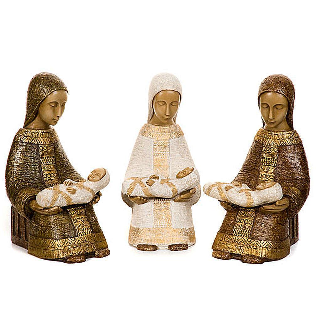 Vierge Nativité Paysanne avec enfant
