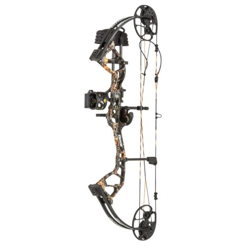 Nouveau BEAR ARCHERY Royale RTH Emballage Droitier 50# Moonshine Wildfire Camouflage