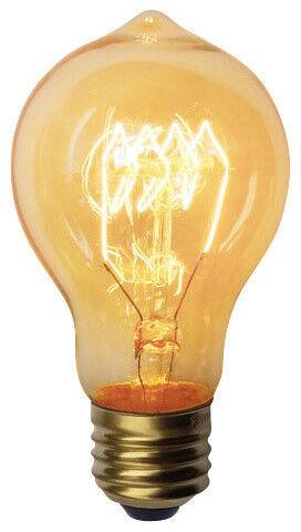 E26 Base Dimmable Quad-Loop 40 Watt Edison Bulb