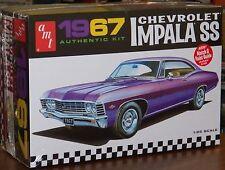AMT 1967 Chevrolet Impala SS hardtop customizing model kit 1/25