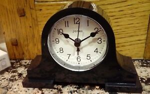 Jones-small-alarm-clock-desk-clock-black-acrylic