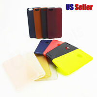 Slim Luxury Silicone Pu Ultra-thin Back Case Cover For Apple Iphone 6s Plus