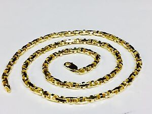 18k-Solid-Yellow-Gold-Anchor-Mariner-Link-Chain-Necklace-4-MM-42-grams-18-034