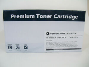 Premiun-Compatible-Tones-Cartridges-BR-TN660-Dual-Pack-for-Brother-See-Picture