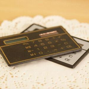 Mini-Slim-Digit-Credit-Card-Size-Solar-Power-Pocket-Calculator-Mini-Calculator