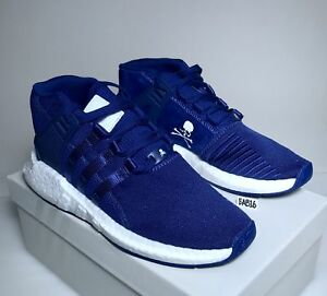 big sale 66fb7 99fff Details about Adidas X Mastermind EQT Support Mid 93/17 MMW Mystery Ink  Blue White CQ1825