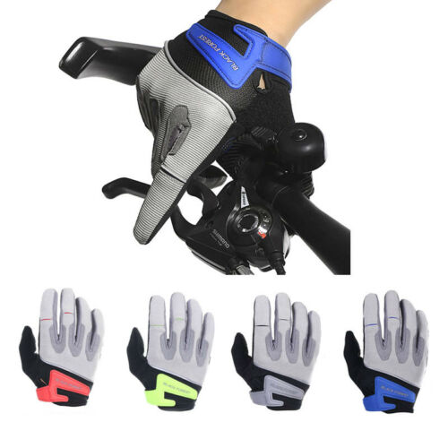 Road Mountain Bicycle Cycling Full Finger Gloves MTB BMX Bike Riding Touchscreen