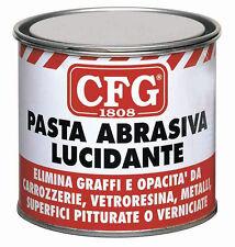 CFG 150ML PASTA ABRASIVA LUCIDA ELIMINA GRAFFI OPACITÀ AUTO FURGONI CAMPER MOTO