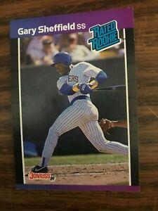 1989 Donruss  #31  Gary Sheffield Milwaukee Brewers Rated  Rookie NrMt