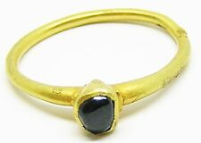 Rare Medieval Gold & Harris Sapphire Finger Ring c. 13th - 14th century A.D.