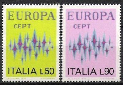 Italien Nr.1364/65 ** Europa, Cept 1972, Postfrisch