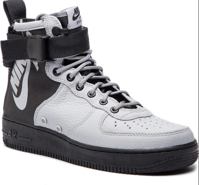 New Nike SF Air Force 1 Mid Wolf Grey Men's Lifestyle Shoes 2018 Sneakers 917753 | eBay