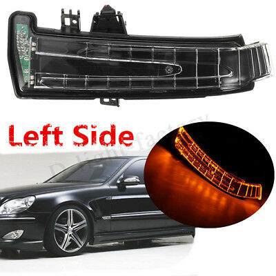Left Side LDE Mirror Indicator Turn Signal Light For Mercedes-Benz W204 212 221