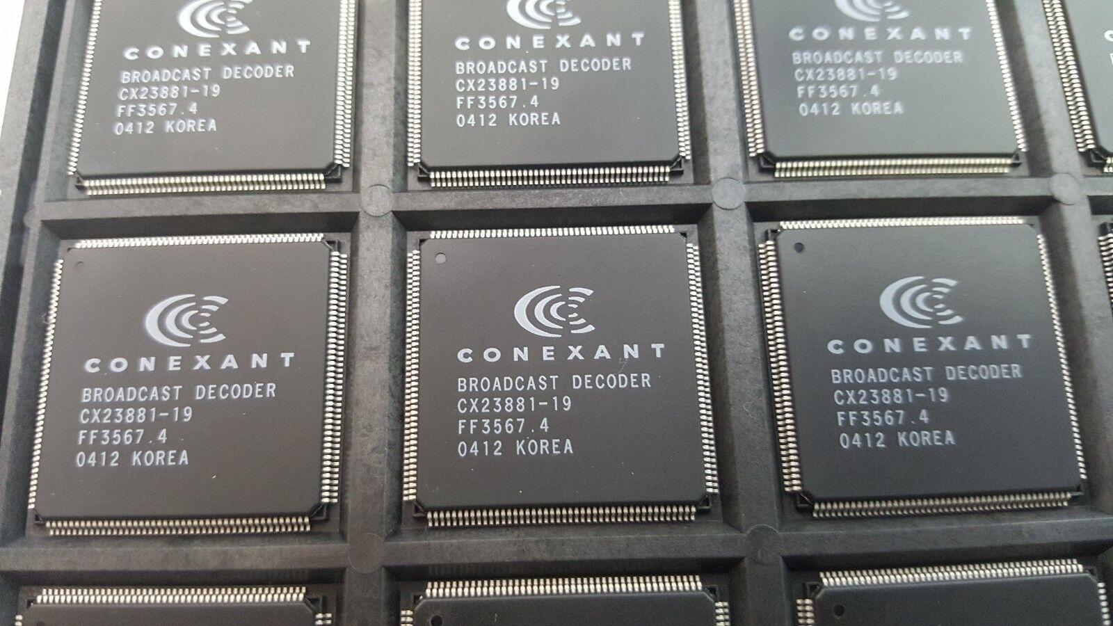 CONEXANT BROADCAST DECODER CX23881 WINDOWS 7 DRIVER