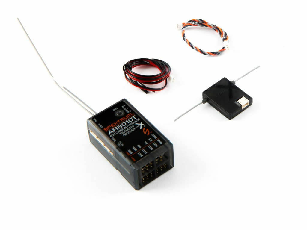 AR8010T 8 canali aria integrato Ricevitore Telemetria