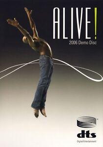 NUOVO-FUORI-PRODUZIONE-DTS-Originale-Ultimate-DEMO-CES-Viva-2006-DEMO-DISC-10-DVD-RARO