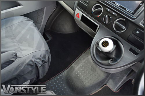 VW T6 TRANSPORTER /& CARAVELLE 2015 ON GENUINE OE SPORTLINE FRONT CARPET MATS x2