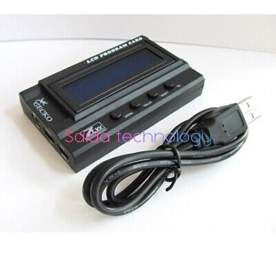 ZTW LCD Program Card for Seal Gecko Series Rc Boat Brushless Electronic Speed Co
