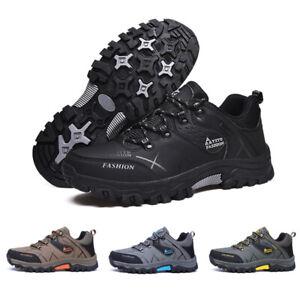 Zapatos-Para-Hombre-Senderismo-Escalada-Al-Aire-Libre-Botas-al-Tobillo-Trail-Impermeable-Calido