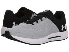 New Men/'s Under Armour Micro G EV Slide Sandals White Silver Black 4D Slider