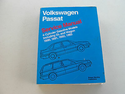 VP93 Volkswagen Passat Service Manual 1990-1993 including GL and Wagon