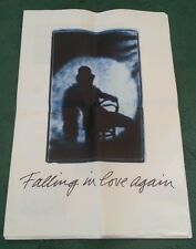 1988 AUDI 100 enamorarse de nuevo nunca quise Etc Reino Unido Folleto de tamaño gigante