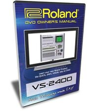 Roland VS-2400 DVD Training Tutorial Manual (VS-2000)