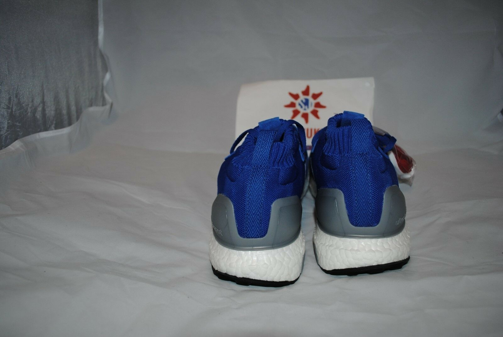 f0a6dcba77 ... ADIDAS ULTRA BOOST MID RUN THRU TIME blueE BY5036 - - - SIZE 8-12