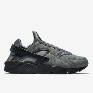 Nike Air Huarache Tech Pack UK Run 6 EUR 40 Cool Grigio in Pile Nuovo 749659 002
