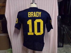061130f6e95 Image is loading TOM-BRADY-UNSIGNED-MICHIGAN-WOLVERINES-JERSEY-SIZE-XL-